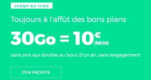 SFR RED forfait mobile
