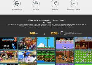 console jeu portable Supretro