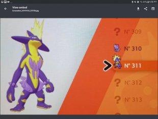 Pokémon Epée Bouclier rumeur leak 89 03 11 2019