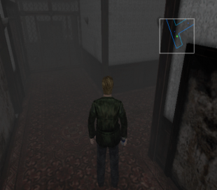 Silent Hill 2 PS2 minimap1