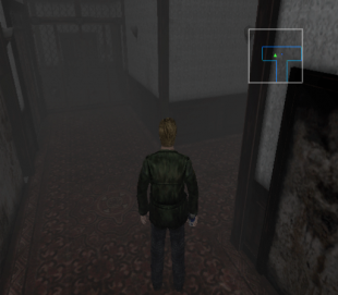 Silent Hill 2 PS2 minimap2