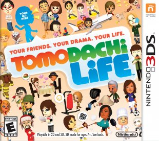 Tomodachi Life jaquette 2
