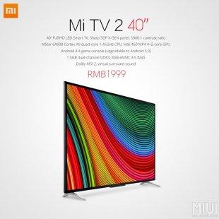 xiaomi new mi tv 2 1