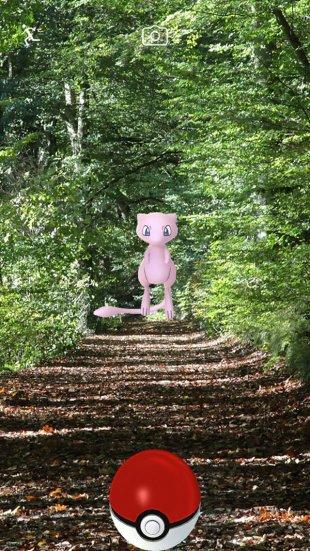 Pokémon GO Études screen 4 Mew
