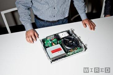 WIred-Xbox One démontée