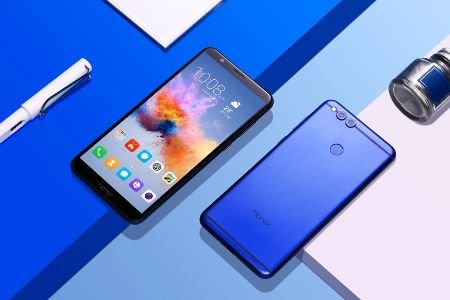 honor 7x bleu