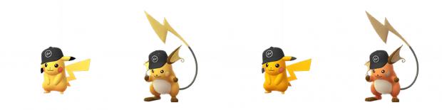 Pokémon GO streetwear Pikachu Raichu