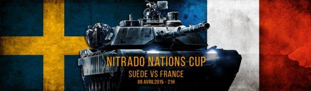 Suede France nitrado nations cup battlefield 4 BF4