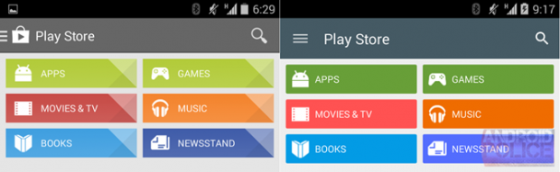 google play store 5 0 screenshot