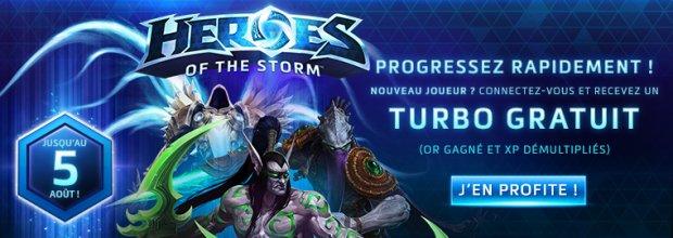 Heroes of the Storm Turbo Gratuit Offert
