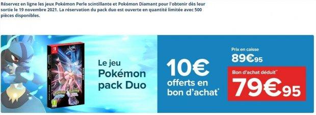 pack duo pokemon pack duo