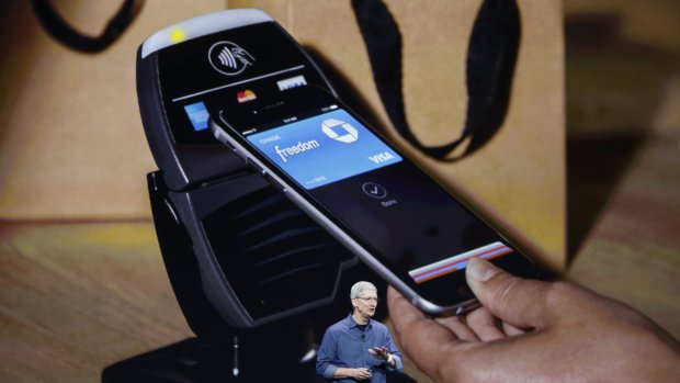 tim cook keynote apple pay nfc.