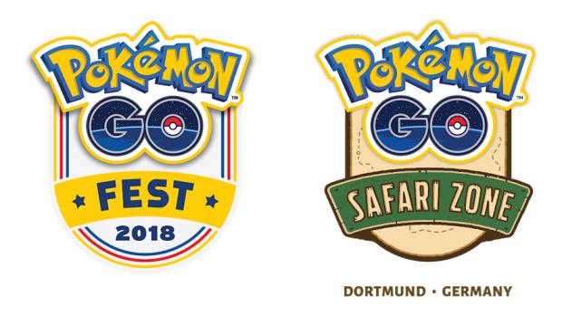 Pokémon GO Summer Tour 2018 logos events