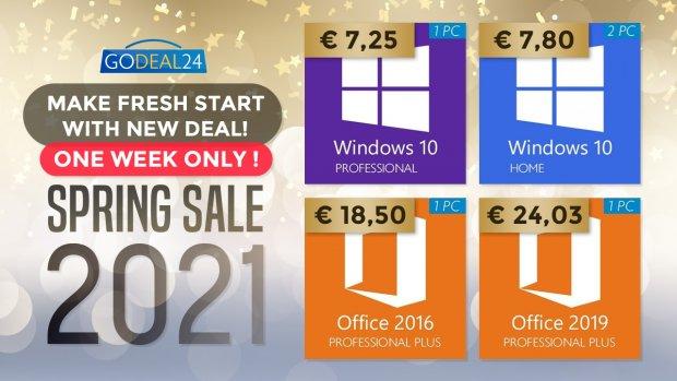 godeal24 spring sales 2021
