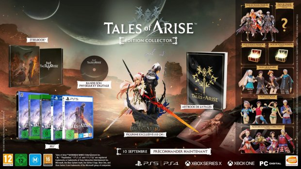 Tales of Arise collector 21 04 2021