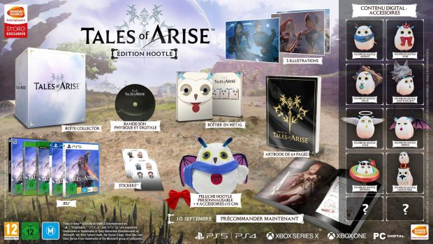 Tales of Arise édition Hootle 21 04 2021