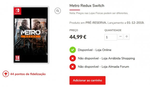 Metro Redux Switch Gaming Replay
