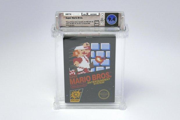 Super Mario Bros NES Cartouche Boite enchères