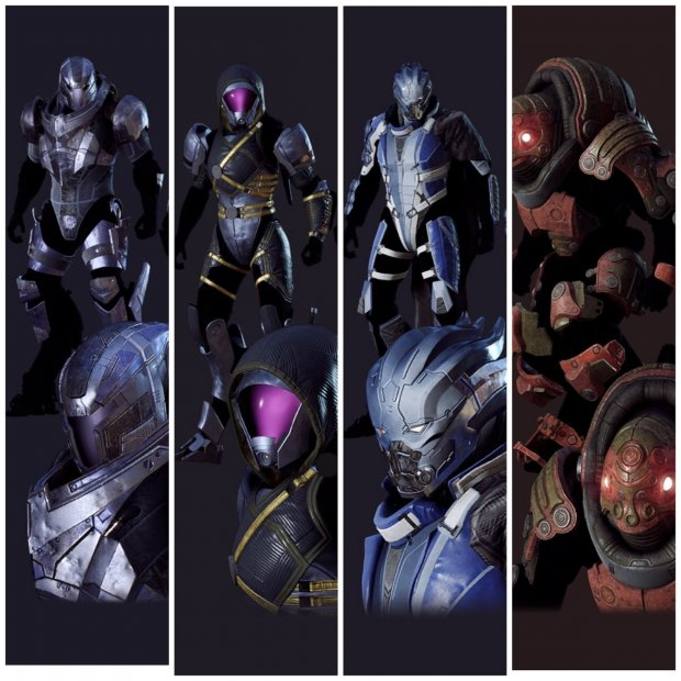 Anthem Mass Effect javelin