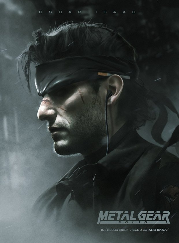 CINEMA   Metal Gear Solid Oscar Isaac