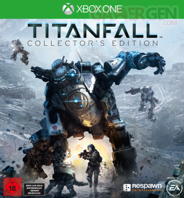 Titanfall jaquette edition collector