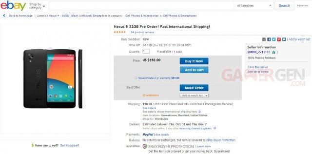 Nexus-5-vente-annonce-eBay
