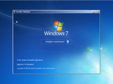 08- bootcamp install windows 7 installer maintenant