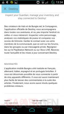 MAJ Google Play Store 4 9 description