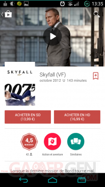MAJ Google Play Store 4 9Films