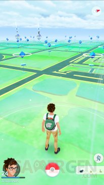 Pokémon GO météo dynamique vent