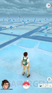 Pokémon GO météo dynamique neige