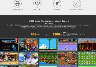 console jeu portable supretro 1