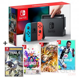 pack switch jeux