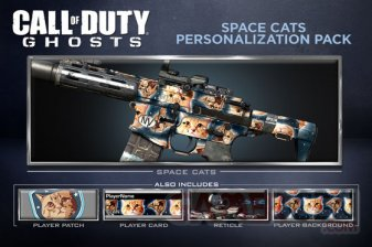call of duty ghosts DLC spacecats