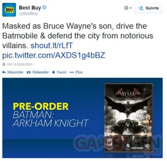 Batman Arkham Knight 03.04.2014
