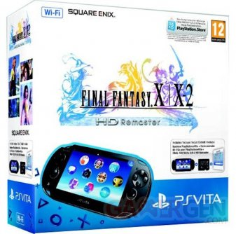 Final Fantasy X X-2 HD Remaster Un pack PSVita 04.03.2014