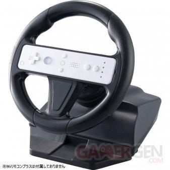 Accessoire Wii U wiimote gamepad volant 16.04.2014  (2)