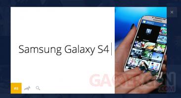 top-100-recherche-Google-samsung-galaxy-S4