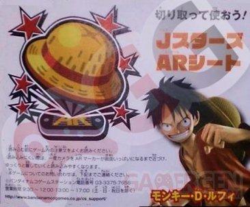 J Stars Victory VS Carte AR Luffy One Piece 22.01.2014
