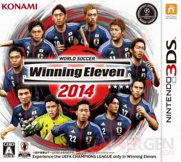 PES winninge eleven 2014 japon jaquette 3DS 08.10.2013.