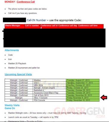 xbox one email leak walmart