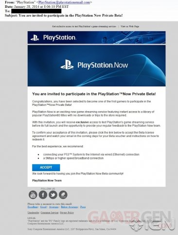 PlayStation Now 29.01.2014