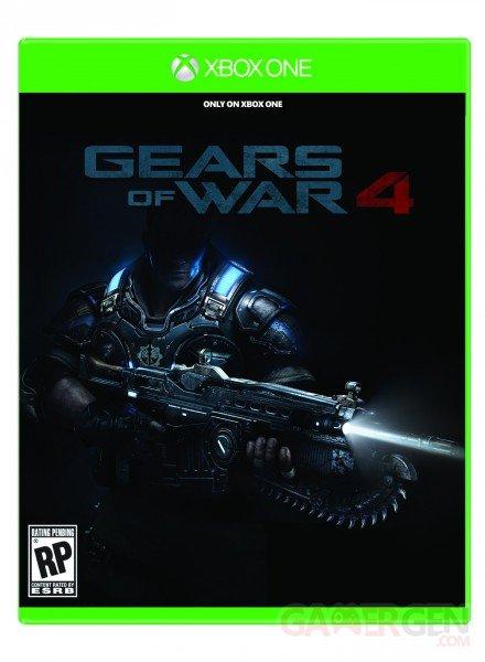 Gears of War 4 jaquette