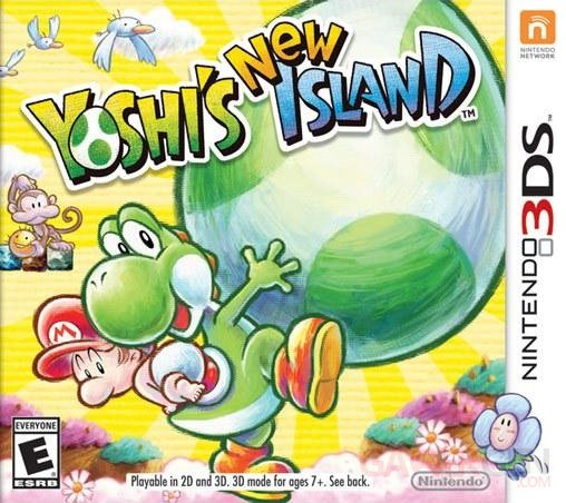 Yoshi New Island jaquette couverture 14.01.2014