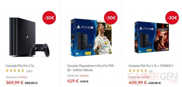 PS4 Pro Auchan image