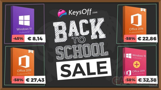 KeysOff back to school