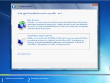 10- bootcamp install windows 7 choix type installation