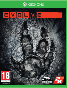 2K EVOLVE Packaging XboxOne