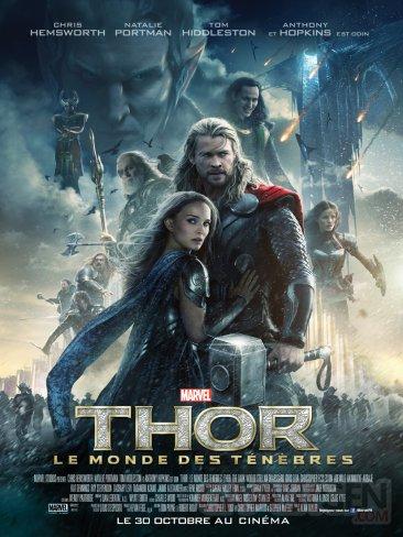 Affiche Thor le monde des ténèbres France