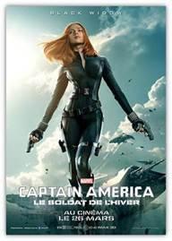 affiches Captain America  Le Soldat de l'hiver concours marvel (2)